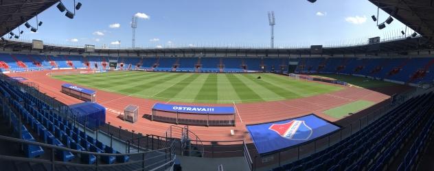 Stadion ve Vítkovicích a naše LED panely při utkáních FC Baník Ostrava